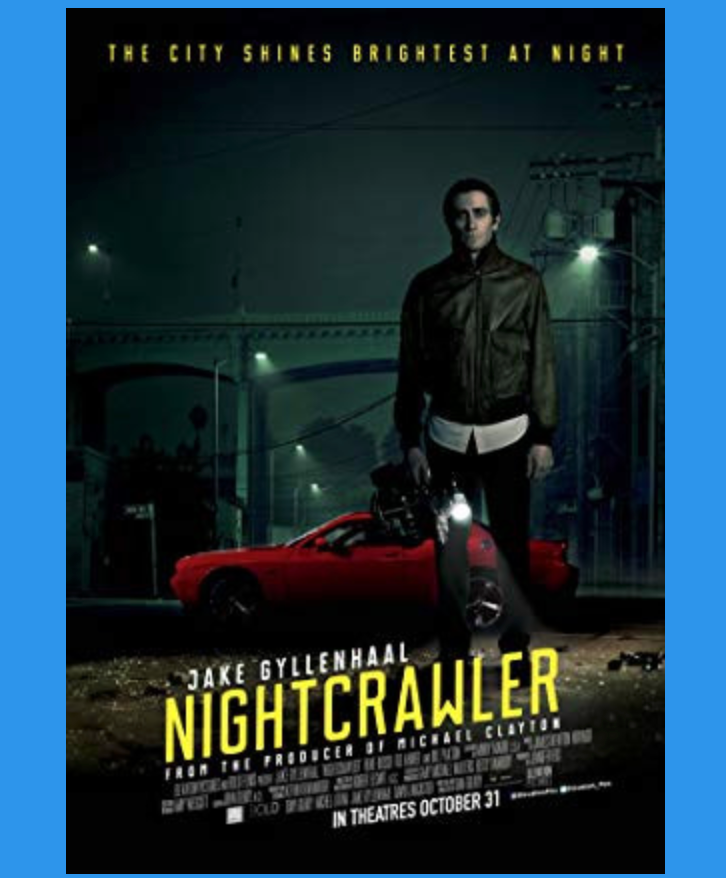 movie poster of Nightcrawler