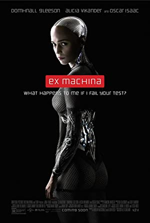 movie poster of Ex Machina streaming (where to watch online?)
