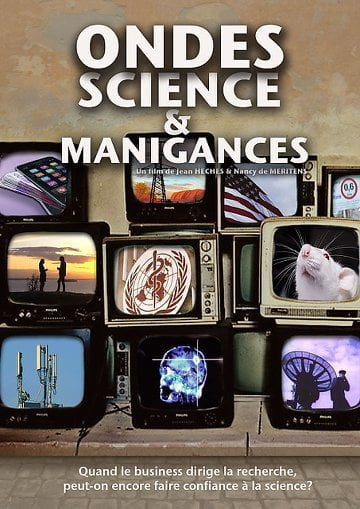 movie poster of Ondes, science et manigances
