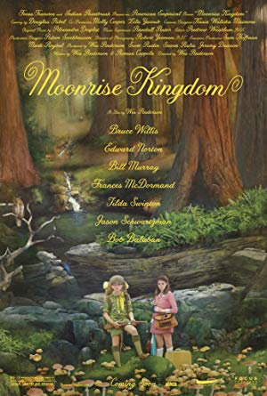 movie poster of Moonrise Kingdom