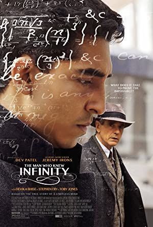 movie poster of The Man Who Knew Infinity