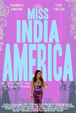 movie poster of Miss India America