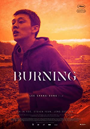 movie poster of Burning (2018)