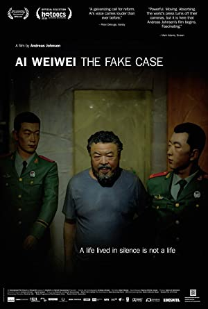 movie poster of Ai Weiwei: The Fake Case