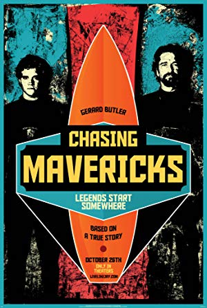 movie poster of Chasing Mavericks