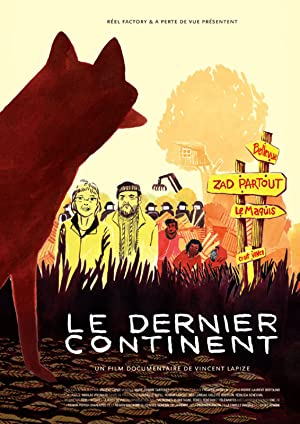 movie poster of Le dernier continent