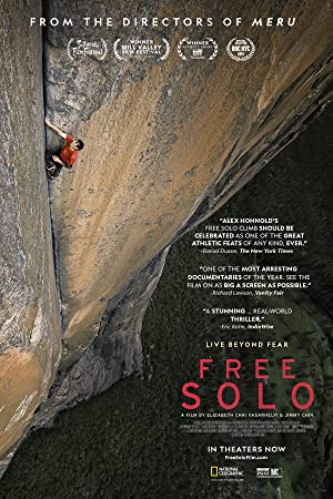 movie poster of Free Solo