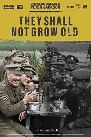 movie poster of Pour les Soldats Tombés (They Shall Not Grow Old) streaming (où regarder en ligne?)