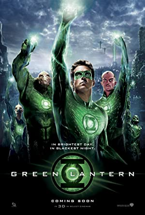 movie poster of Green Lantern